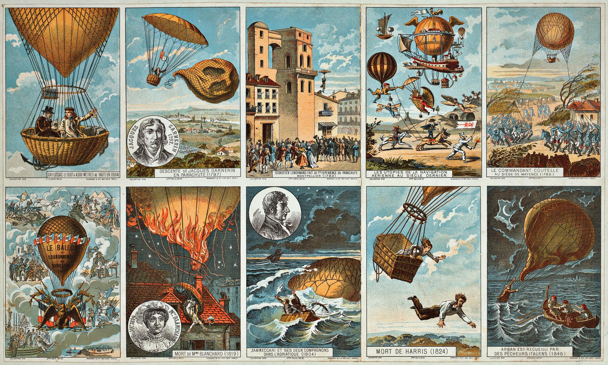 Воздушный шар ретро открытка, гифки