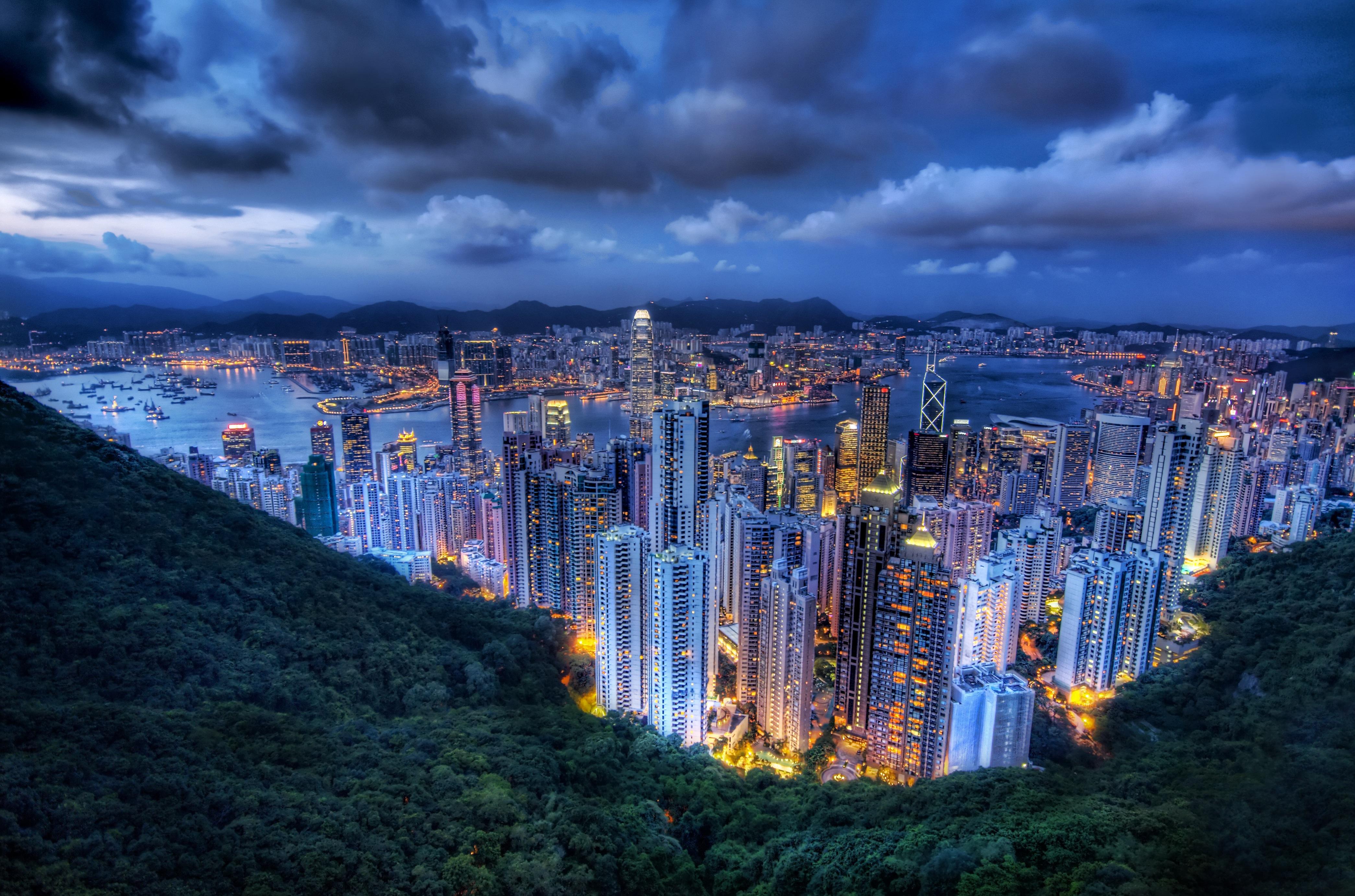 hong kong - HD4180×2764