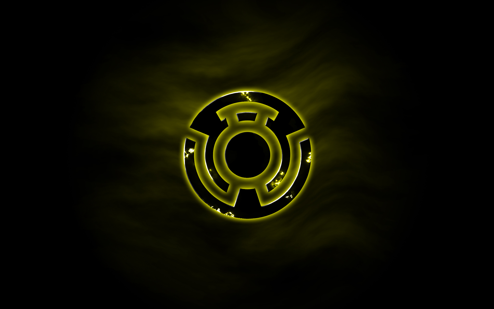 yellow lantern logo - HD 1920×1200