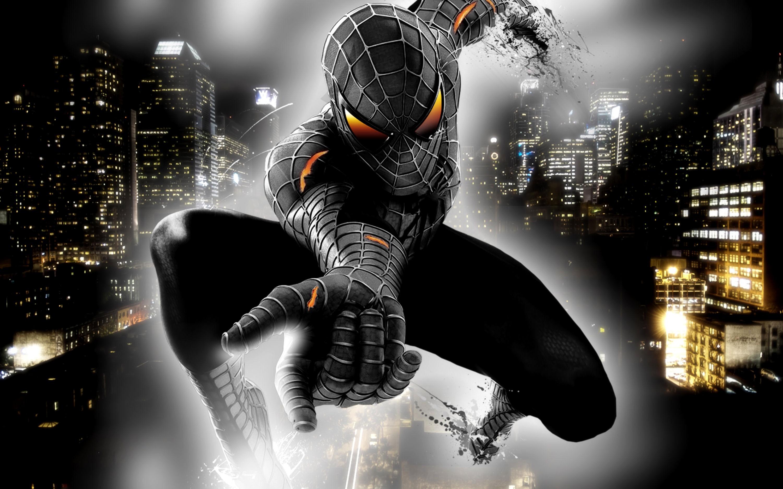 Человек-паук, выборочная раскраска - Просмотреть, изменить ...