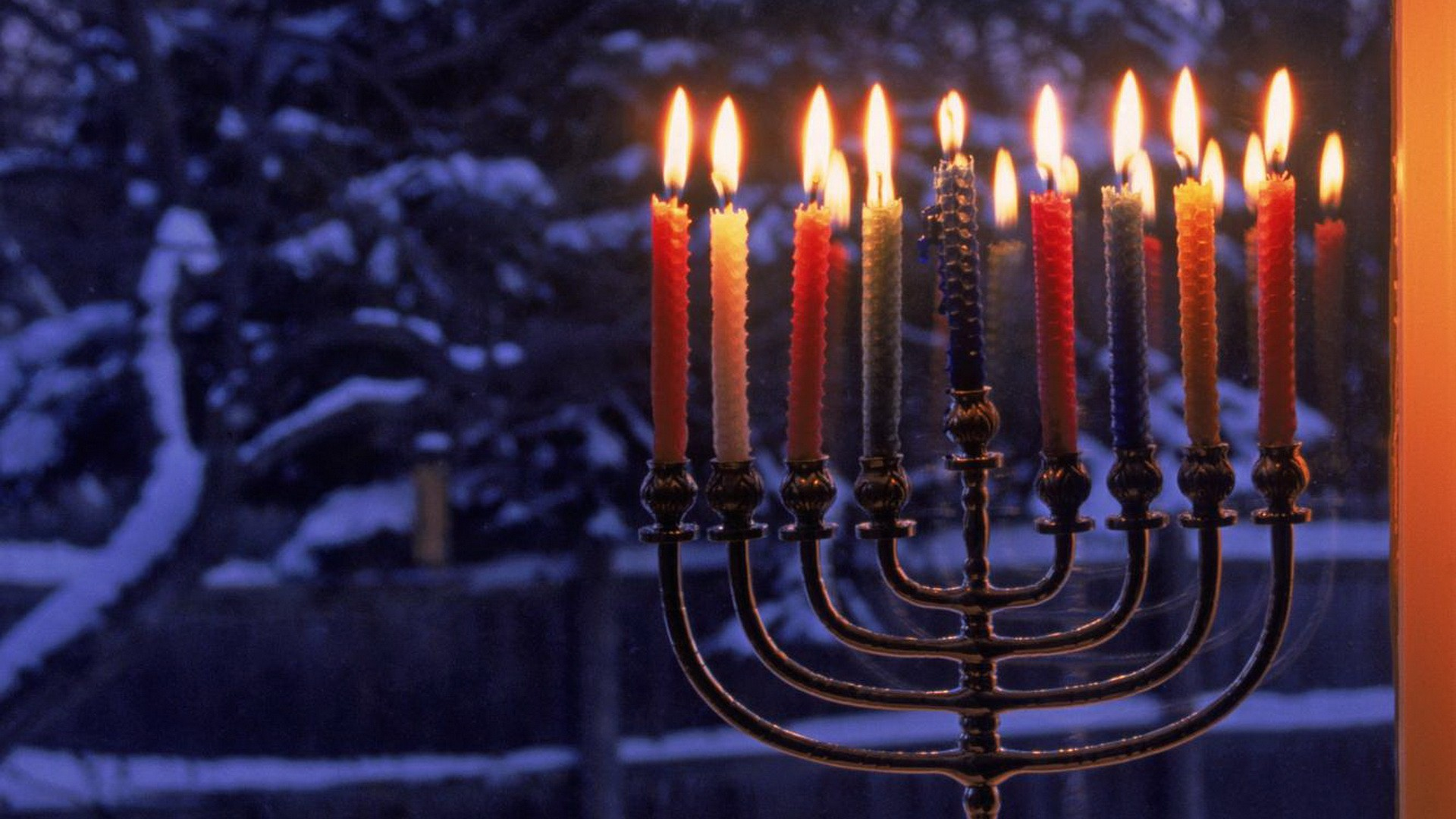 The eightday Jewish celebration known as Hanukkah or Chanukah commemorates the rededication during the second century BC of the Second Temple in Jerusalem