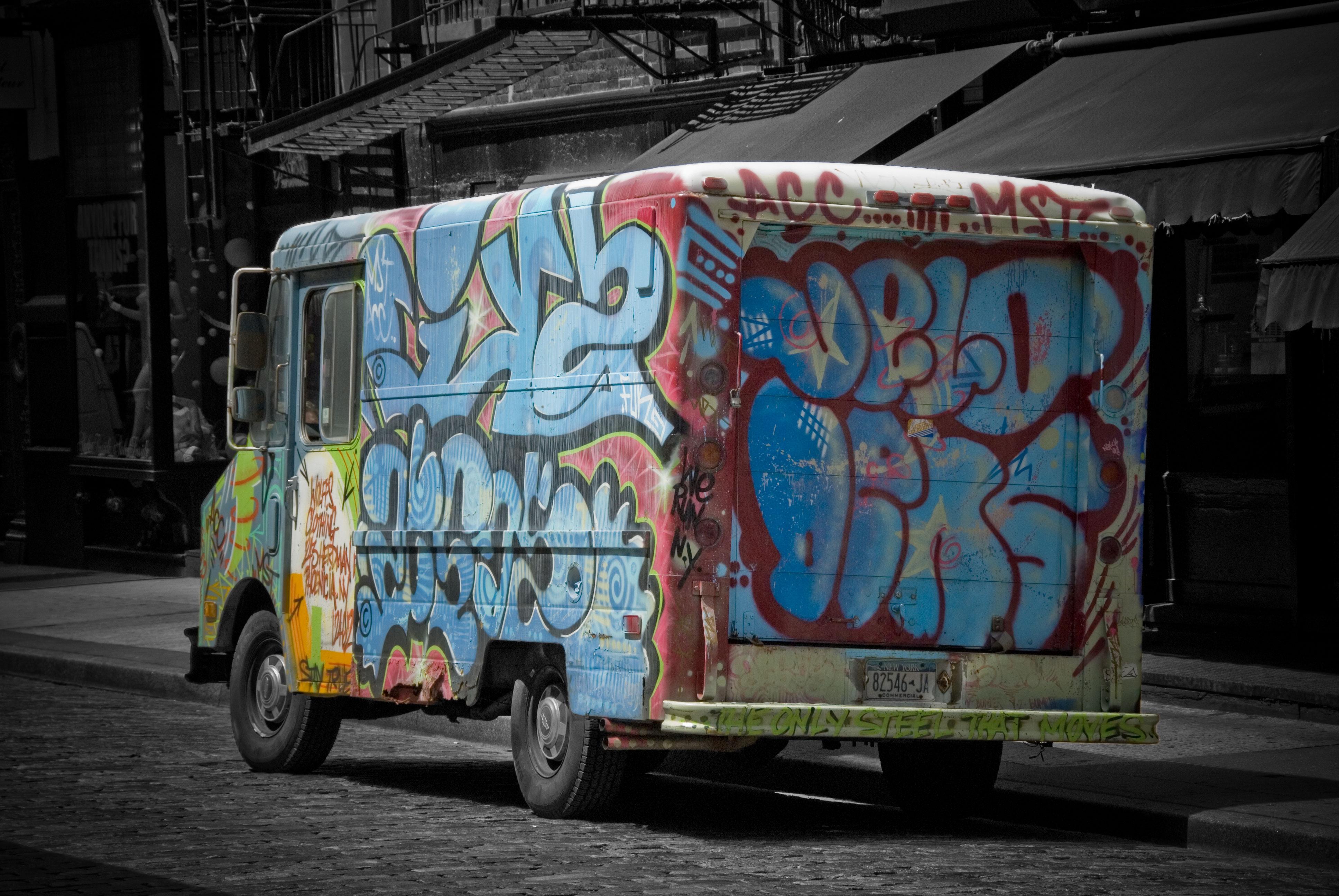 граффити смешные обои фото составе фирменного поезда