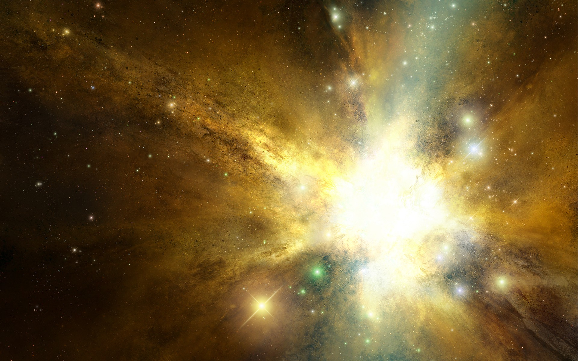 astronomy gold star - HD1920×1200