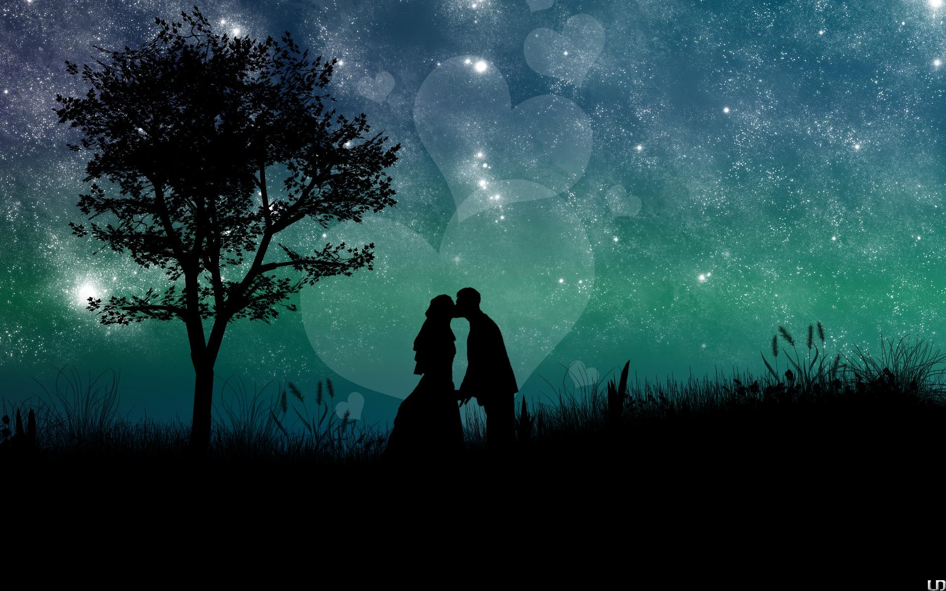 Картинках, романтичные картинки на ночь