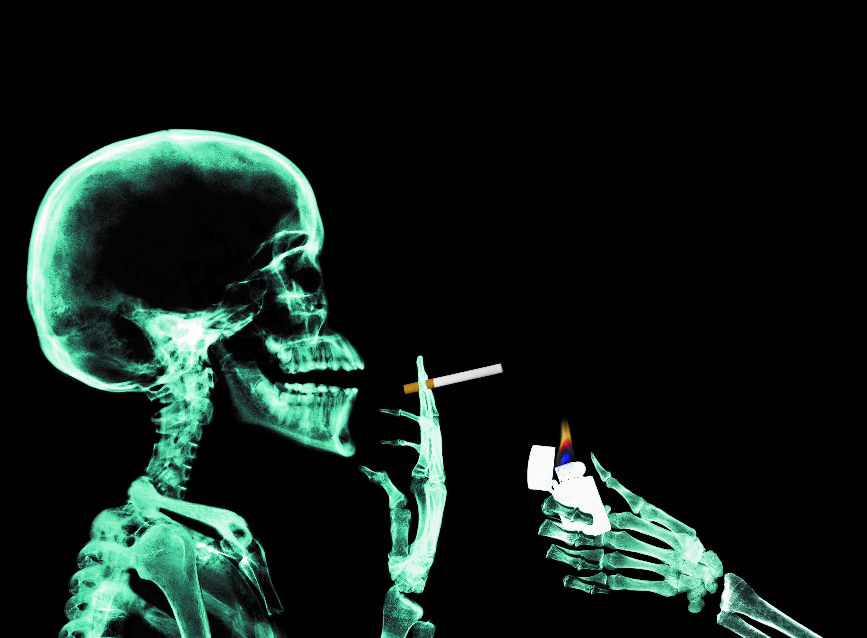 картинки курящие скелеты