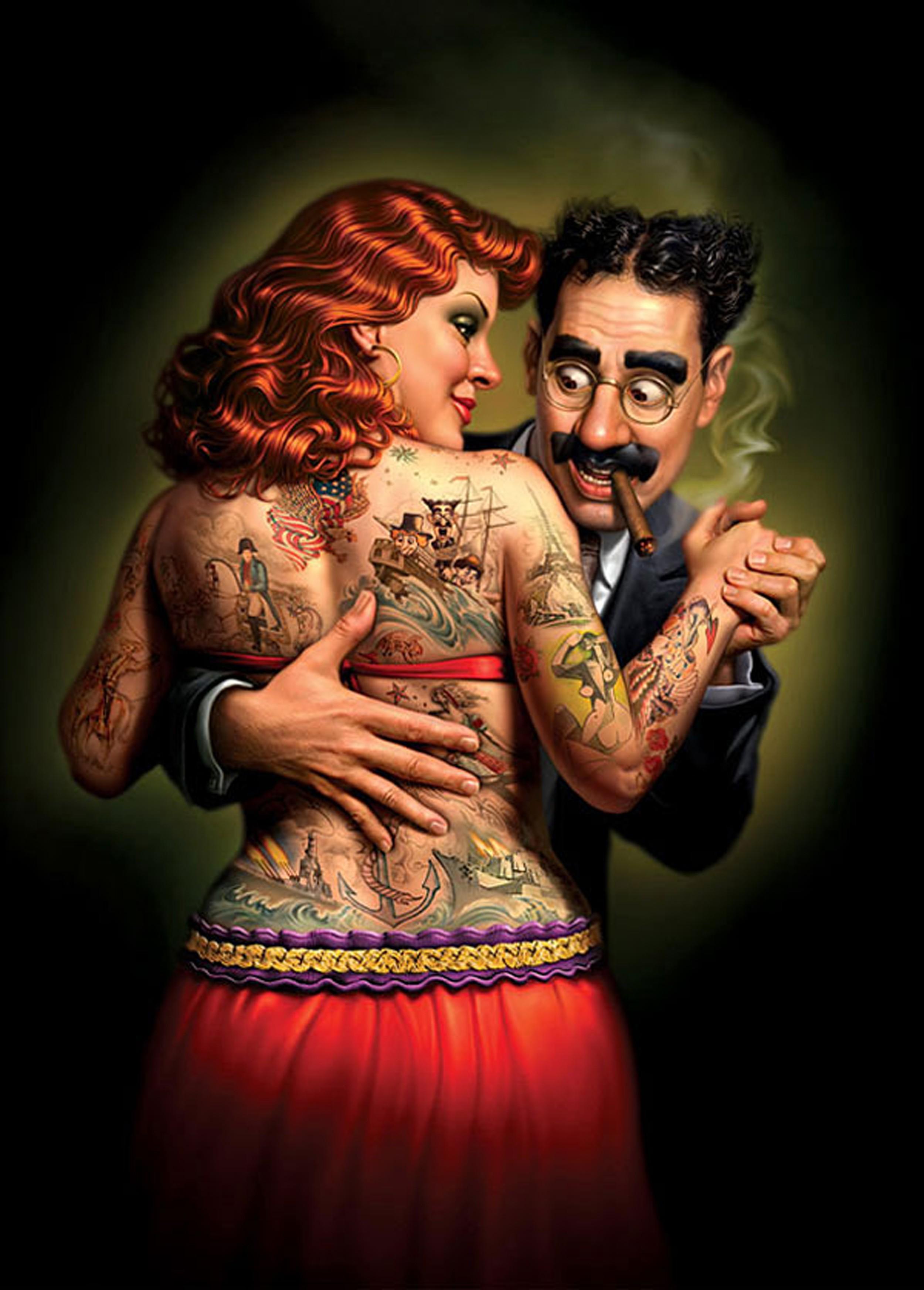 Прикольные картинки про татуировки