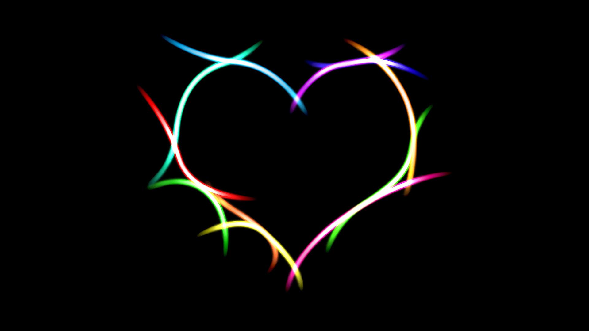 Красивые картинки с сердечками на черном фоне, жкх картинки красивые