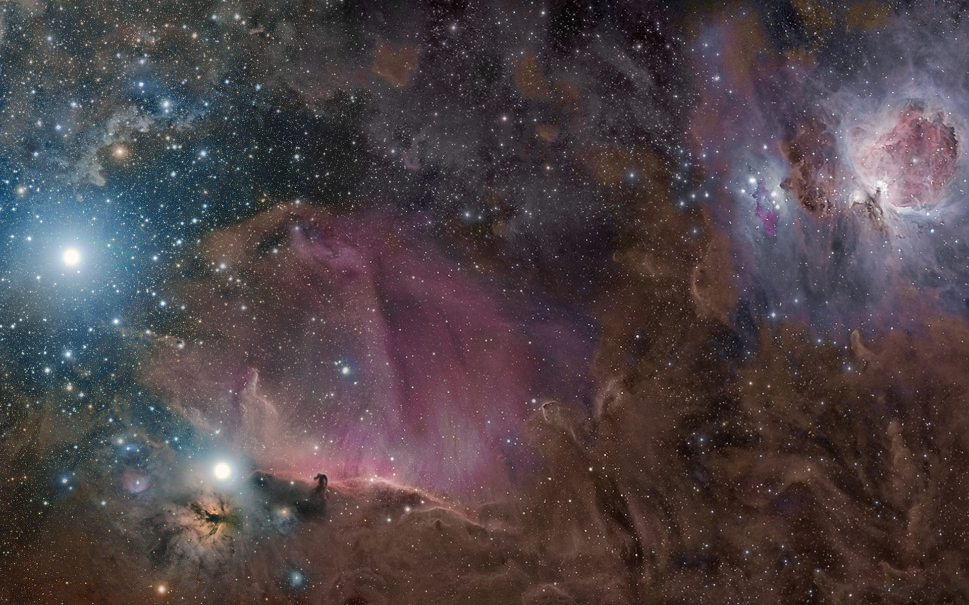 orion nebula pictures - HD 1680×1050