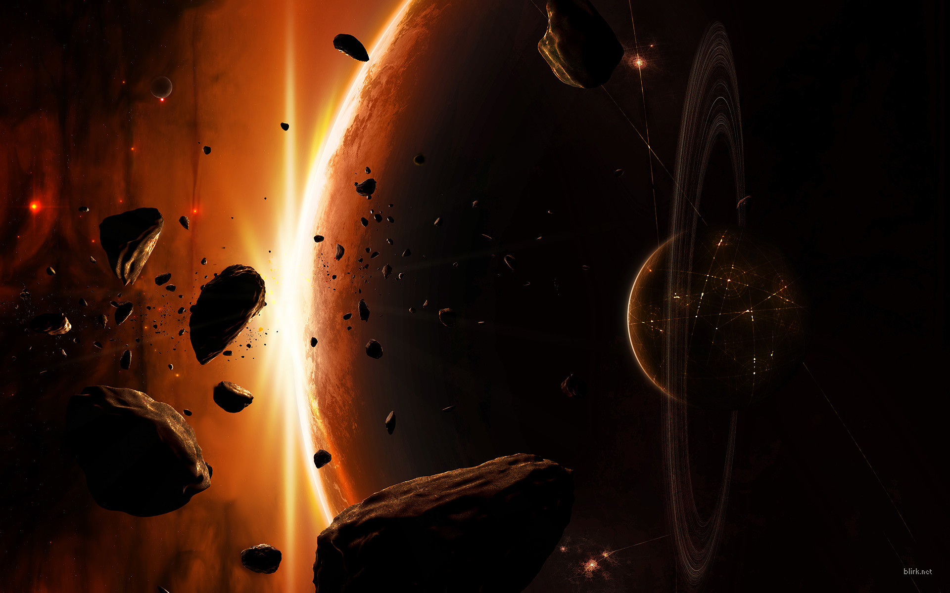 asteroid planet game - HD 1500×1050