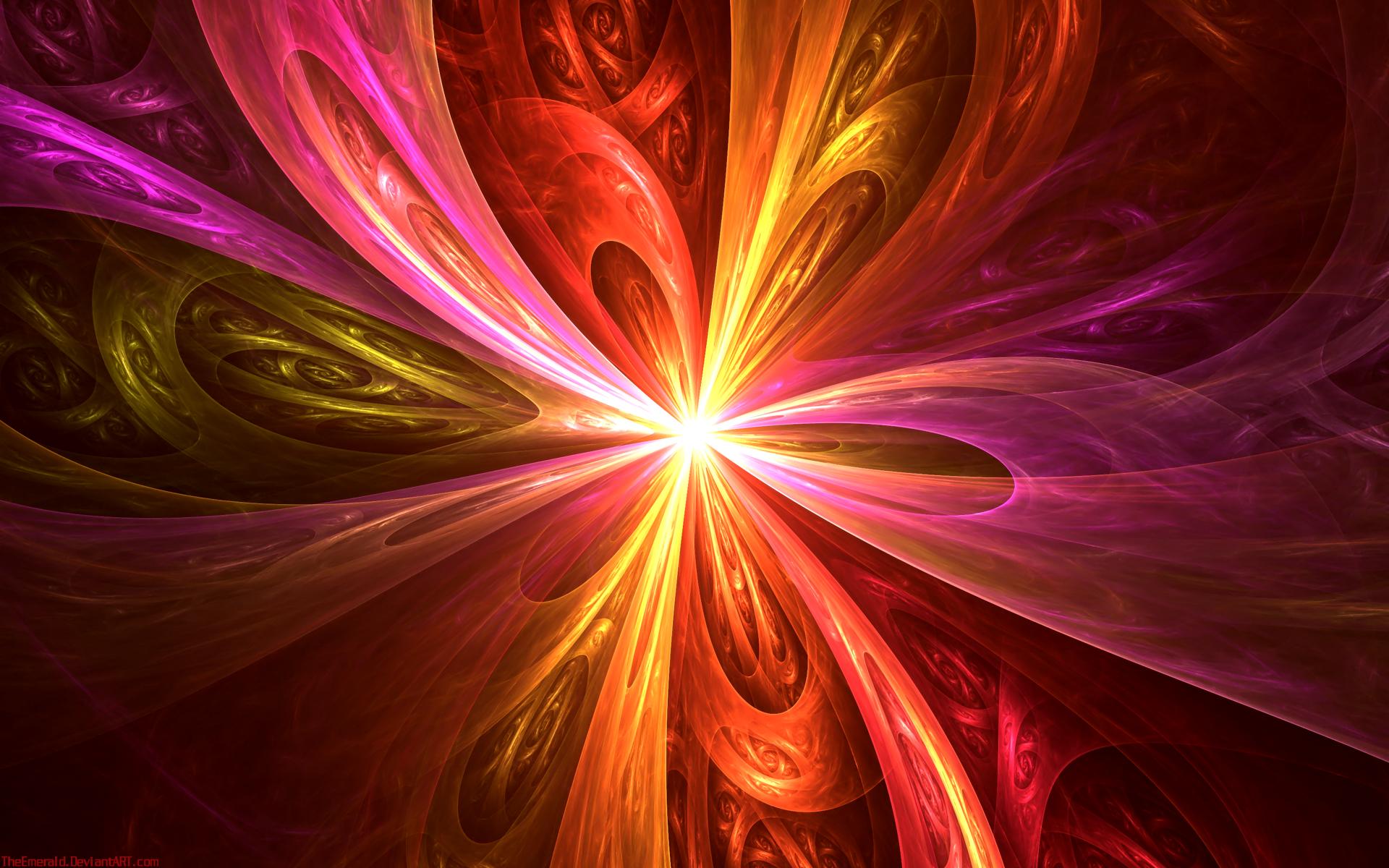 Обои фрактал, Цвет, узор. Абстракции foto 2