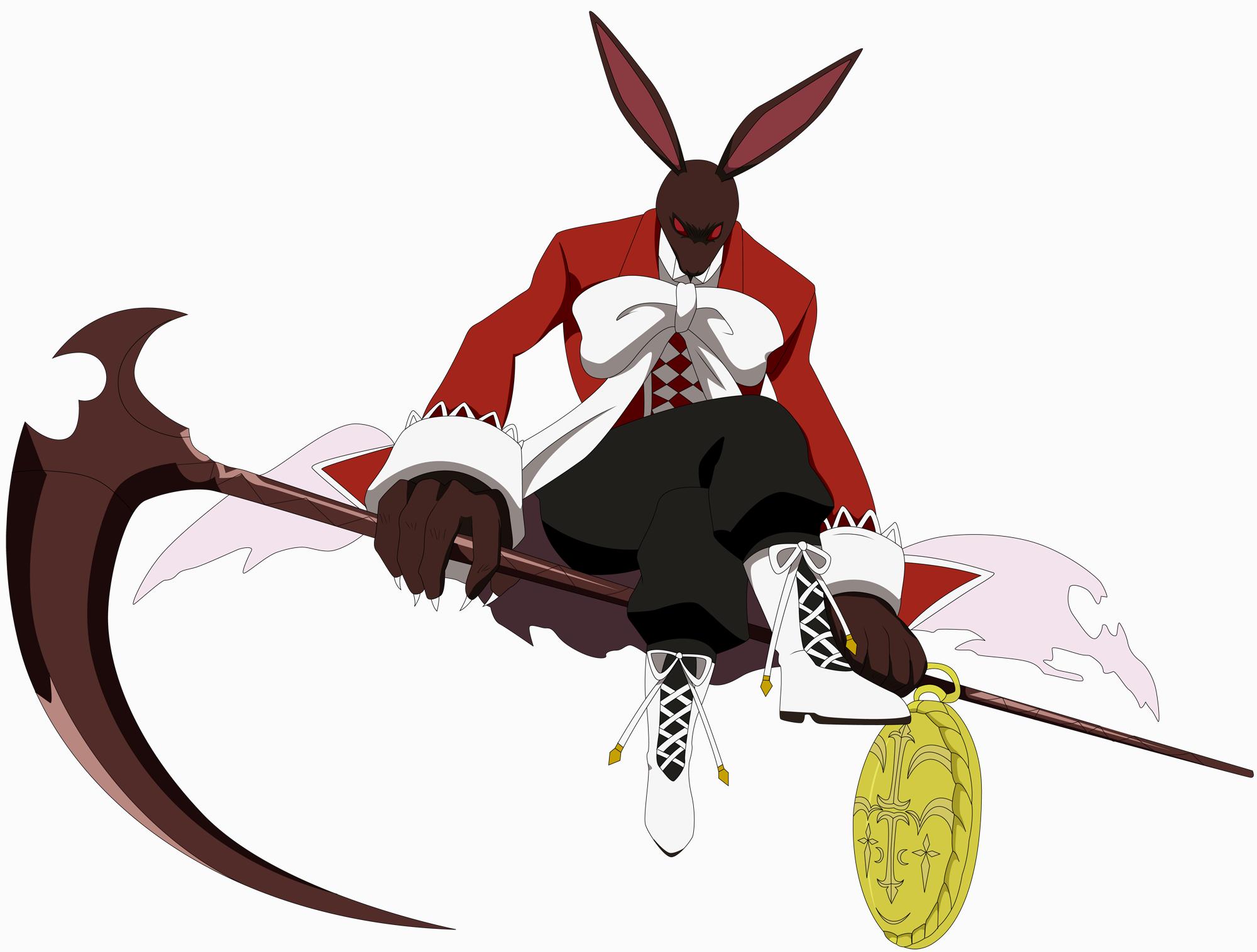 этом картинки кровавого кролика из сердец пандоры используют