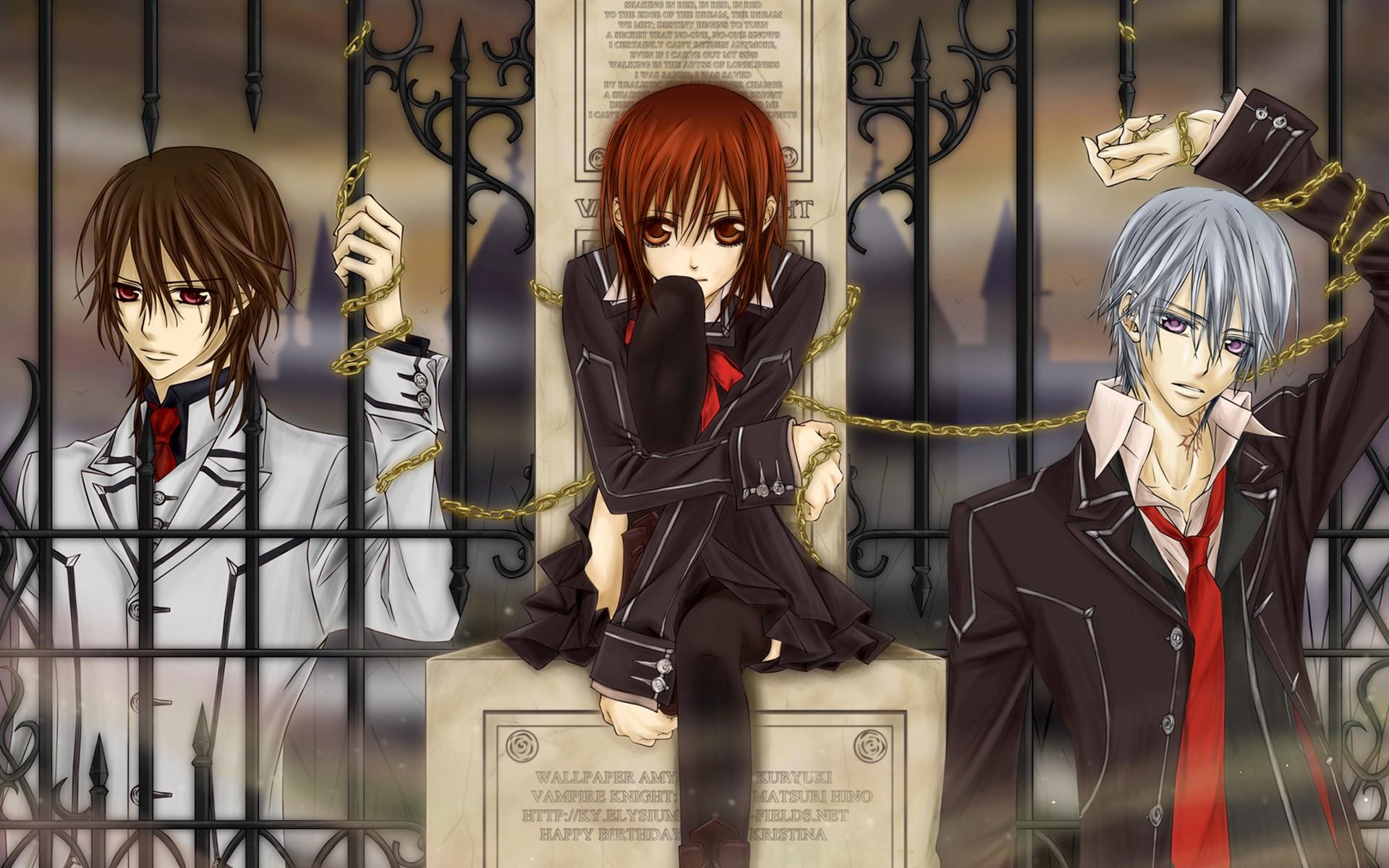 Картинки вампиров аниме
