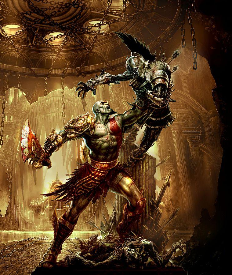 Боги войны картинки оружие — pic 10