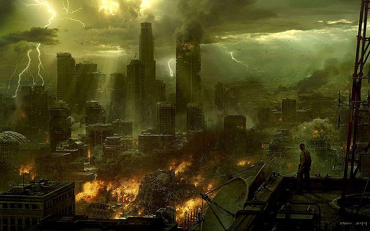 постапокалиптические картинки на рабочий стол