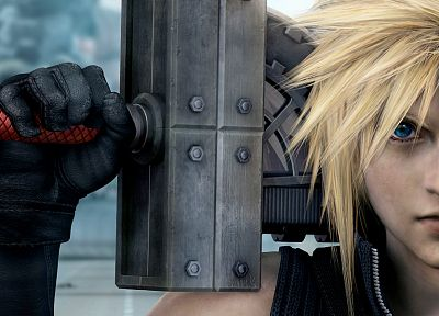 Final Fantasy VII Advent Children, Cloud Strife - обои на рабочий стол